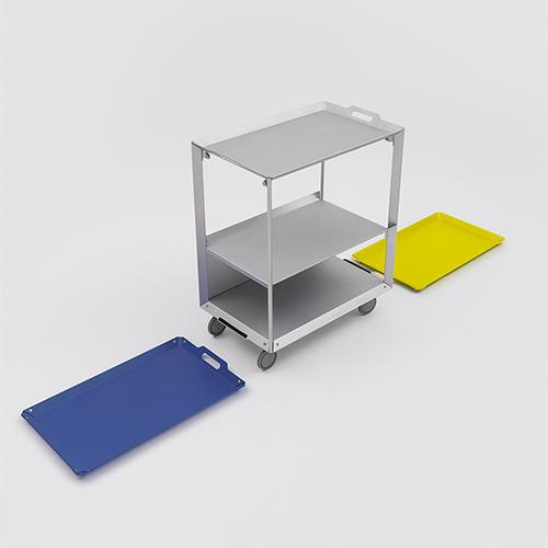 Mobile Life Multipurpose Cart by Matali Crasset for Danese Milano