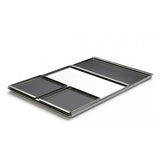 "XS Tablett Square Stainless Steel 6"" Tray by Mono Germany"