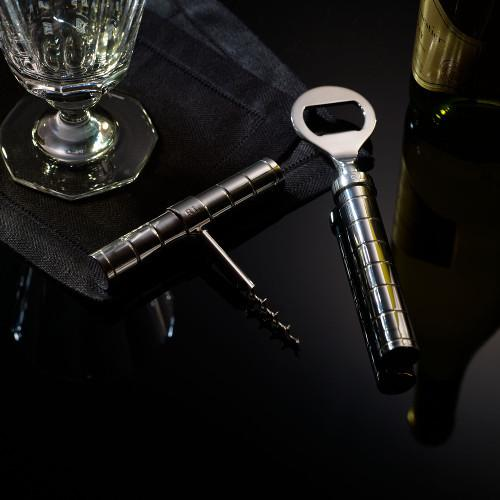 Montgomery Silverplated Corkscrew and Bottle Opener by Ralph Lauren