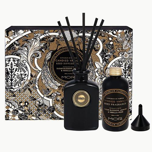 Emporium Classics Candied Vanilla Reed Diffuser Set by Mor