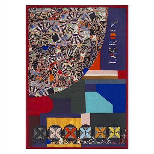 "Mosaic Freak 51"" x 71"" Throw by Christian Lacroix"