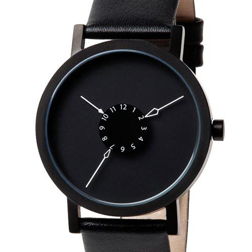 Nadir Watch, Black by Damian Barton for Projects Watches