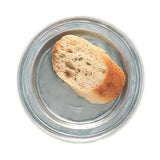 Narrow Rim Bread Plate, Set of 2 by Match Pewter