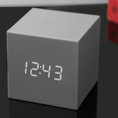Gravity Colored  Click Clock by Gingko