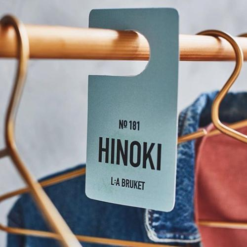 No. 181 Hinoki Fragrance Tag by L:A Bruket
