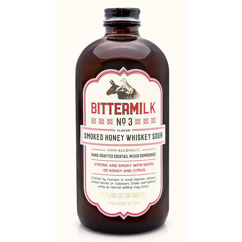 Bittermilk No. 3 Mixer: Smoked Honey Whiskey Sour