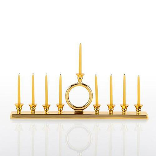 Circle of Life Menorah by Nima Oberoi Lunares BENEFIT