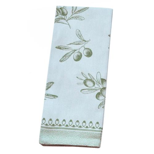 Classic Olive Green Cotton Kitchen Towel, 31