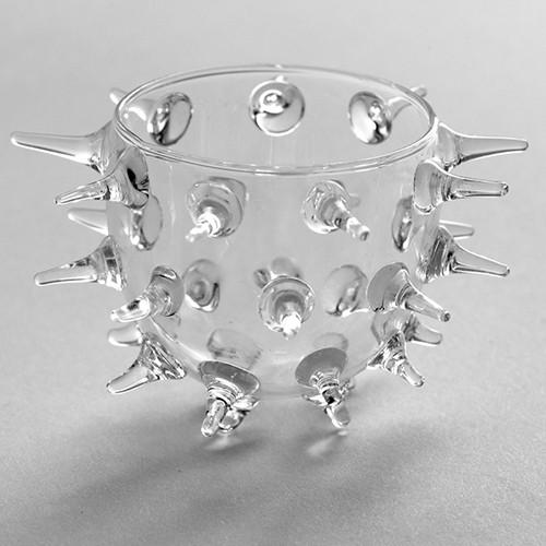 Glass Urchin Amuse Bouche Bowl