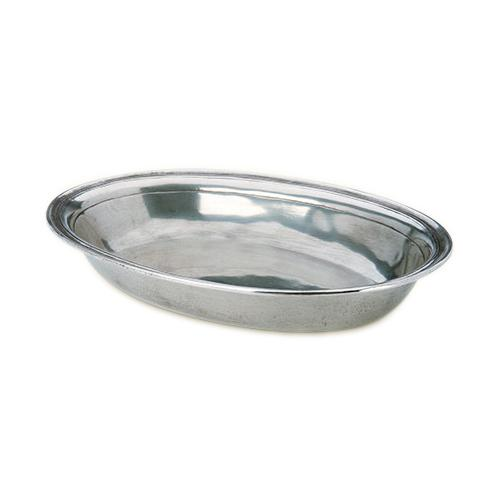 Oval Serving Bowl by Match Pewter