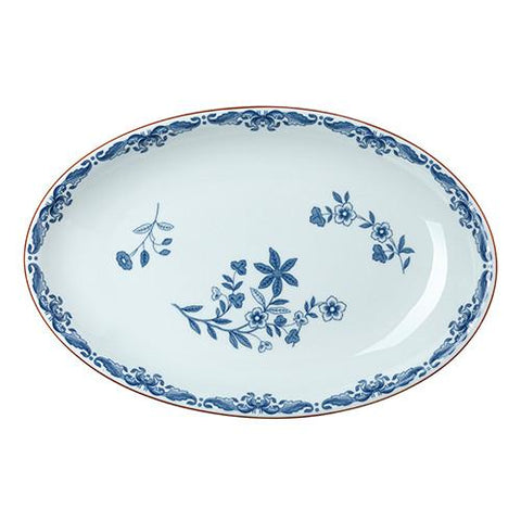 Ostindia Oval Serving Dish by Rorstrand