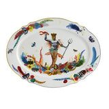 Caribe Medium Oval Platter by Christian Lacroix for Vista Alegre