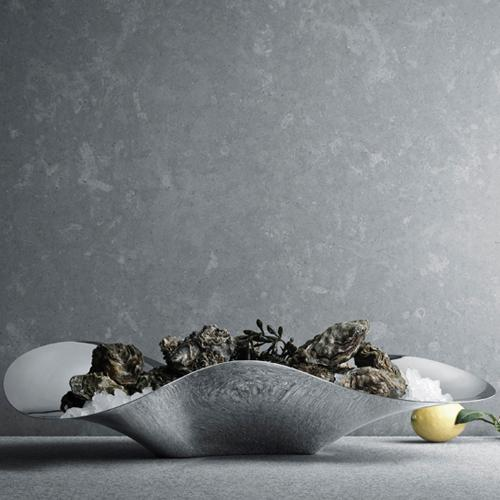 Indulgence Oyster Tray by Helle Damkjaer for Georg Jensen
