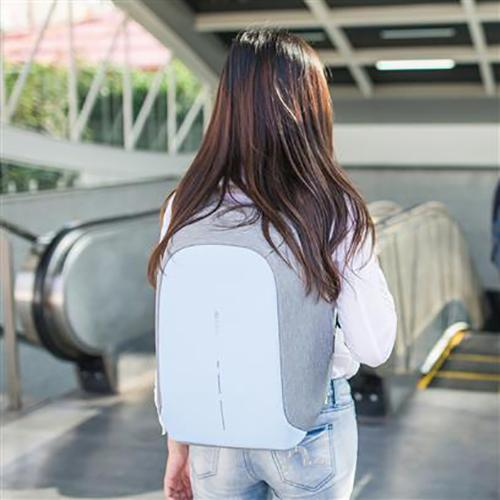 Bobby Compact Anti-Theft Backpack, Powder Blue by XD Design