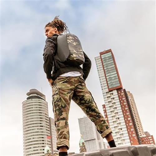 Bobby Compact Anti-Theft Backpack, Camo by XD Design