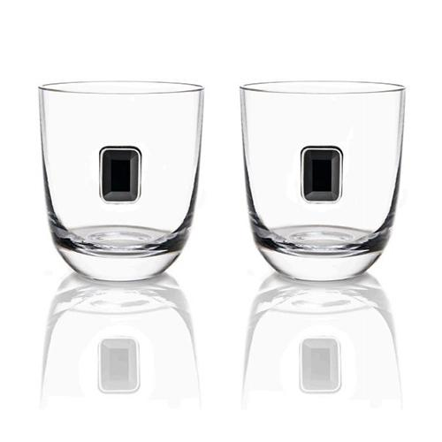 Elevo Double Old Fashioned Glasses, set of 2 by ANNA New York