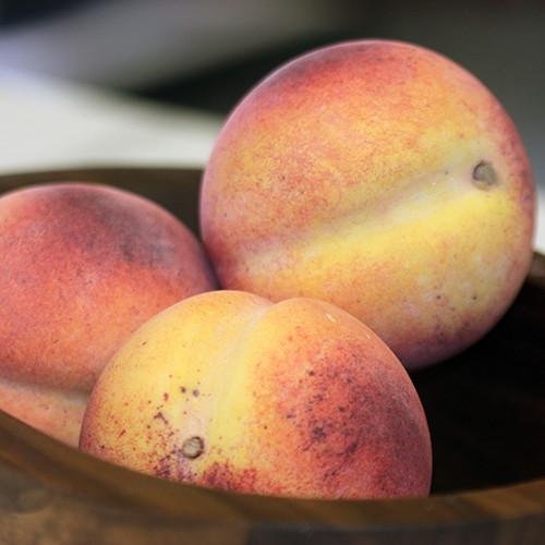 Peach Italian Carrara Marble Stone Fruit