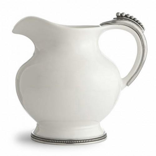 Perlina Grande Pitcher by Arte Italica