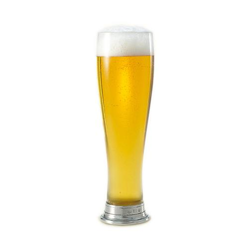 Beer Pilsner Glass by Match Pewter