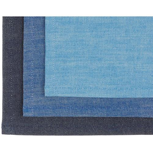 Denim Rectangular Placemat by Mi Cocina