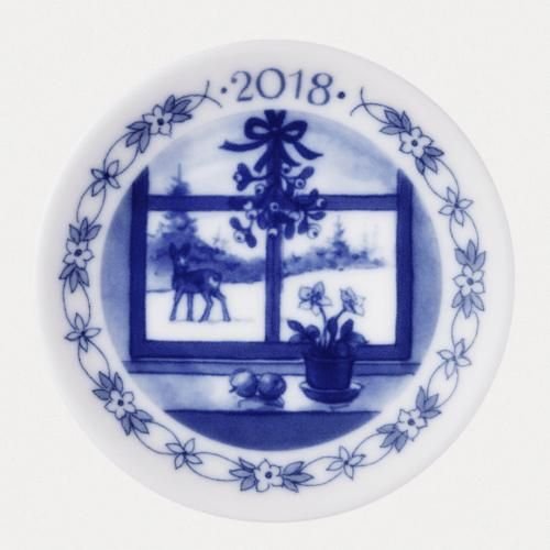 2018 Christmas Plaquette by Royal Copenhagen
