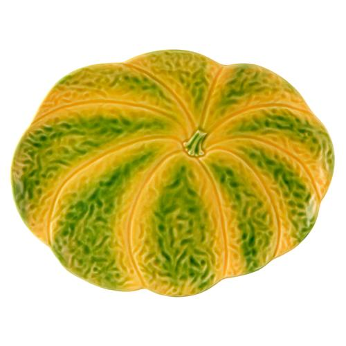 Pumpkin Large Platter by Bordallo Pinheiro