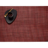 Chilewich: Basketweave Woven Vinyl Placemats set of 4 Red