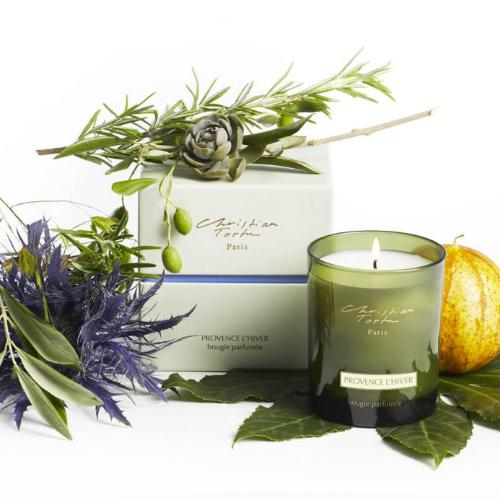 Provence l'hiver Candle by Christian Tortu