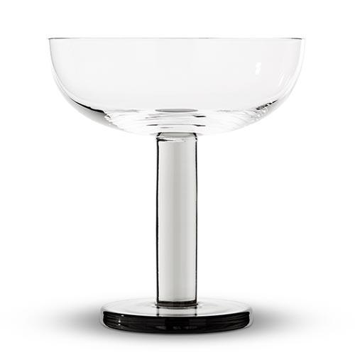 Puck Coupe Glass, Set of 2 by Tom Dixon