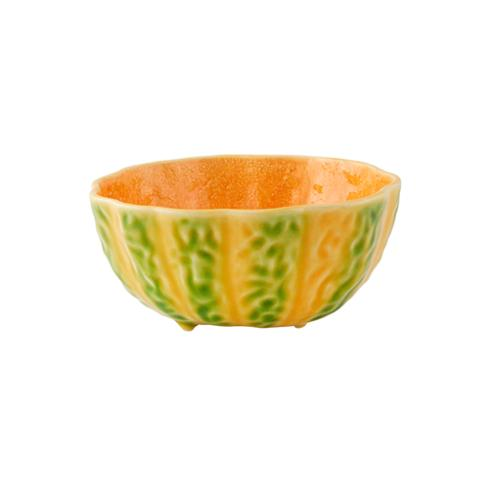 "Pumpkin Bowl, 6.4"" by Bordallo Pinheiro"