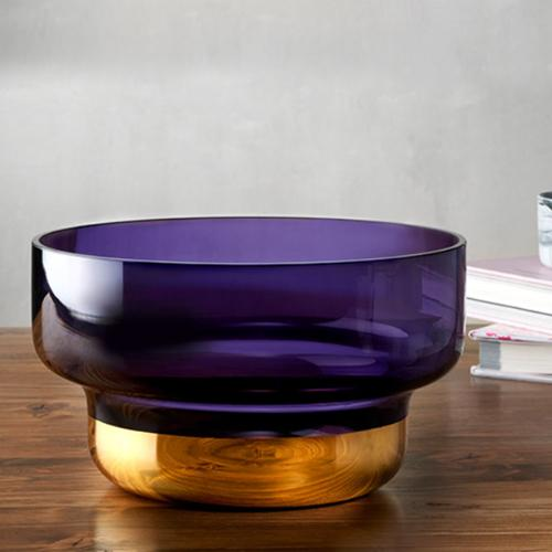 24K Gold Bottomed Small Bowl by Pentagon Design for Nude