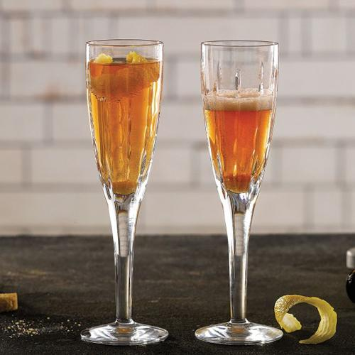 Neptune 4.7 oz. Champagne Flute Glass, set of 2 by Royal Doulton