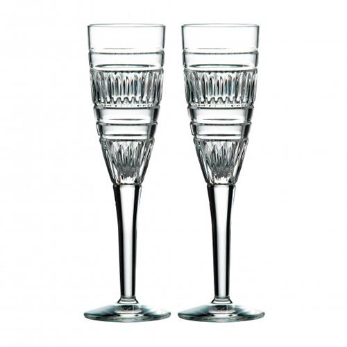 Radial 4.7 oz. Champagne Flute Glass, set of 2 by Royal Doulton
