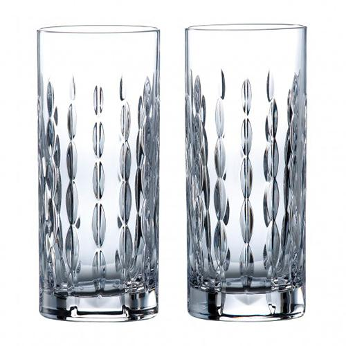 Neptune 10.8 oz. Highball Glass, set of 2 by Royal Doulton
