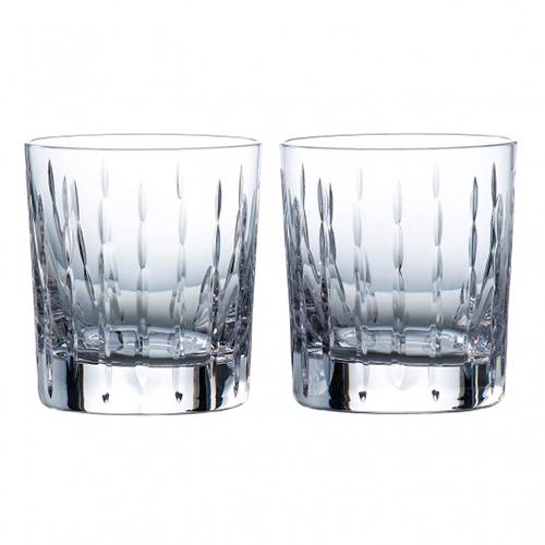 Neptune 9.8 oz. Old-Fashioned Whiskey Glass, set of 2 by Royal Doulton