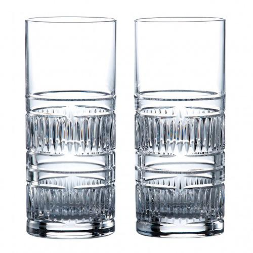 Radial 10.8 oz. Highball Glass, set of 2 by Royal Doulton