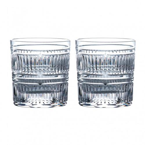 Radial 9.8 oz. Old Fashioned Whiskey Glass, set of 2 by Royal Doulton