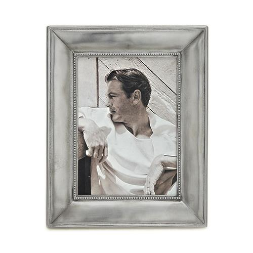 Como Large Rectangular Frame by Match Pewter