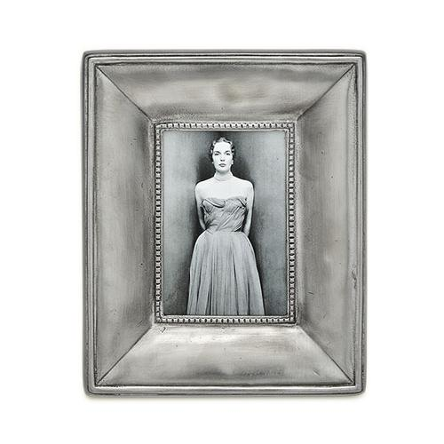 Como Small Rectangular Frame by Match Pewter