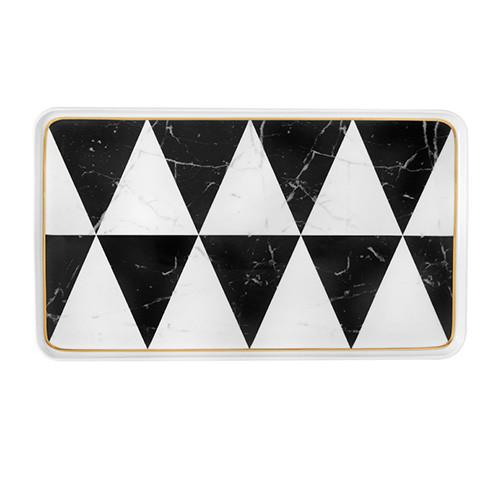 Carrara Rectangular Platter by Coline Le Corre for Vista Alegre