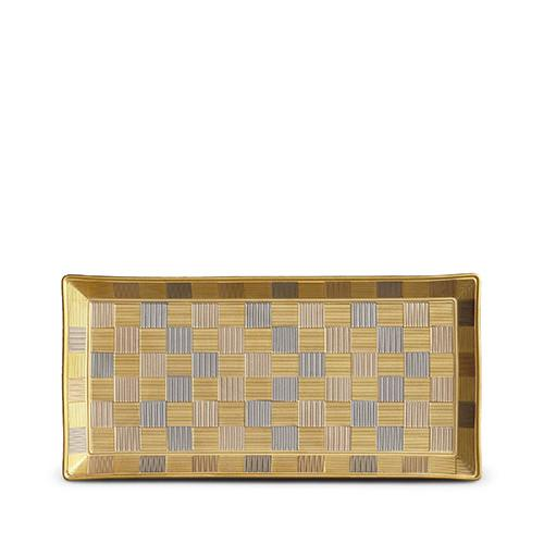 Byzanteum Tri-Color Rectangular Tray by L'Objet