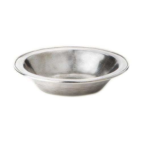 Rimmed Bowl by Match Pewter