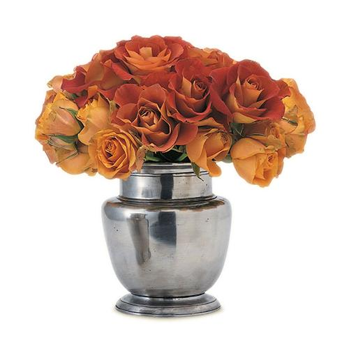 Rimmed Vase by Match Pewter