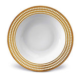 Perlee Gold Rimmed Serving Bowl by L'Objet
