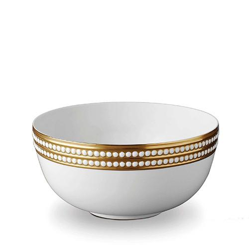 Perlee Gold Serving Bowl by L'Objet