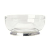 Round Crystal Glass Bowls by Match Pewter