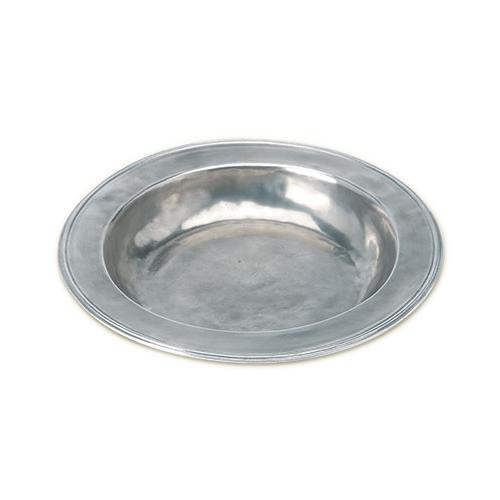 Round Serving Bowl by Match Pewter