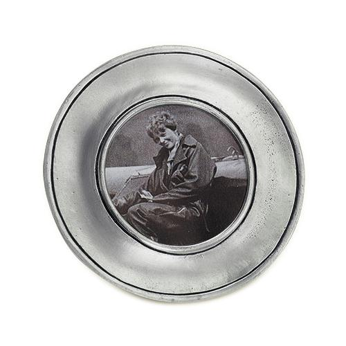 Lombardia Small Round Frame by Match Pewter