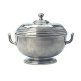 Beaded Round Tureen by Match Pewter