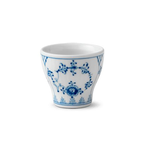 Blue Fluted Plain Eggcup by Royal Copenhagen